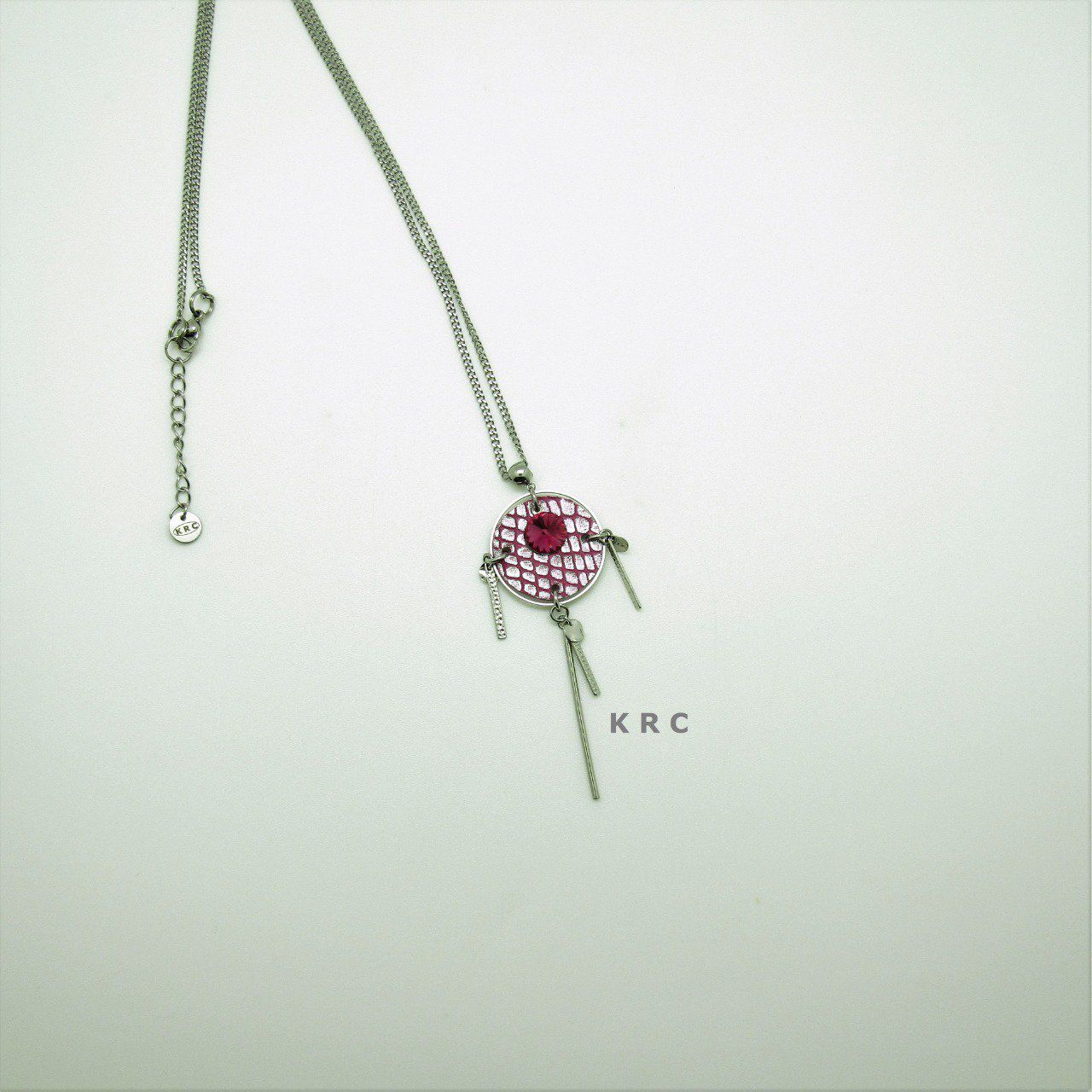 YIN COLLIER LONG FUCHSIA