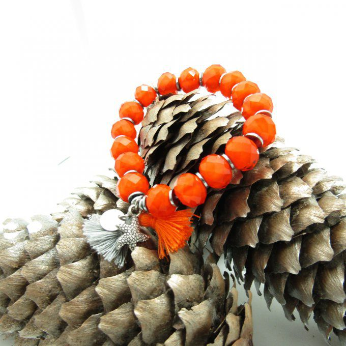 BRACELET LOUISA ORANGE